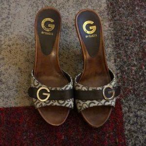 Guess sandal heels